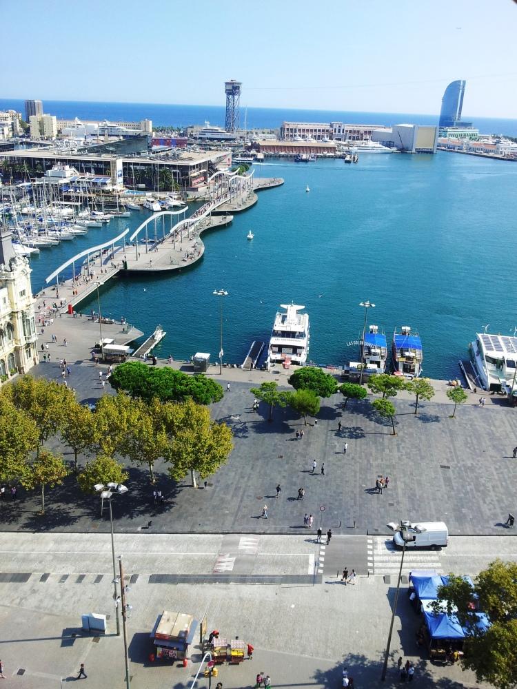 Mirador de Colom_view_Barcelona