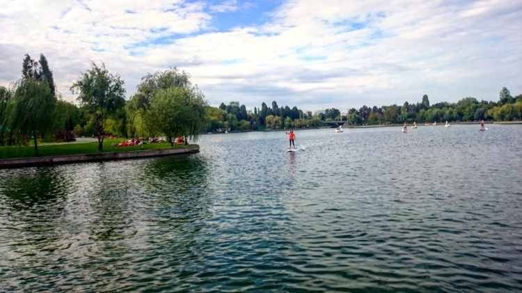 Stand up paddle Parcul IOR