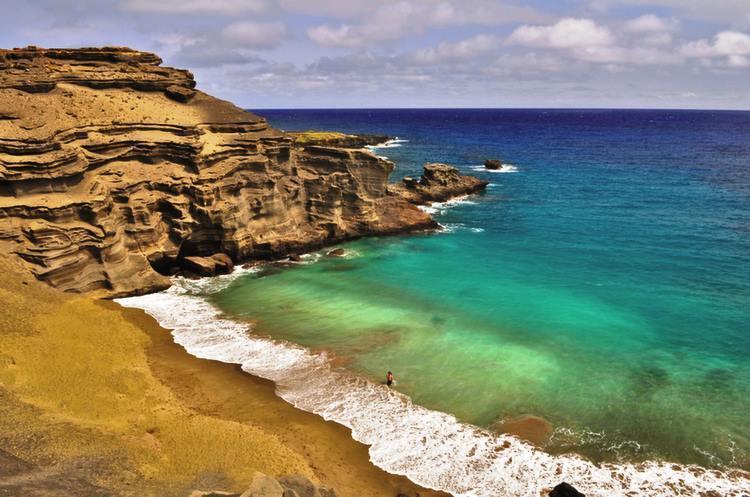 beach-papakolea hawaii