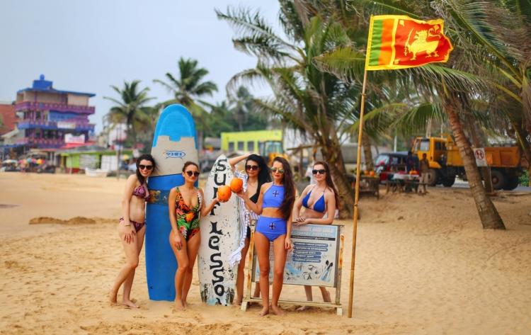 Sei Lanka - Hikaduwa beach
