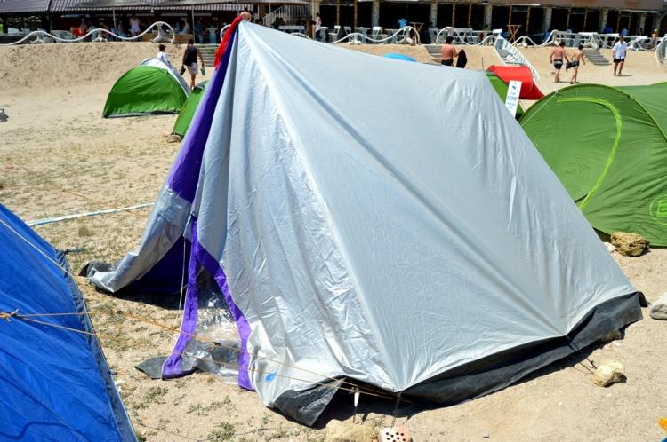 cort camping 2 mai Marea Neagra