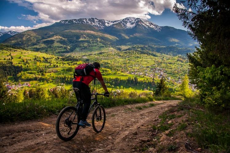 bicicleta Muntii Rodnei