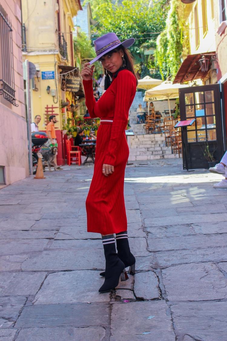 holiday looks Santorini