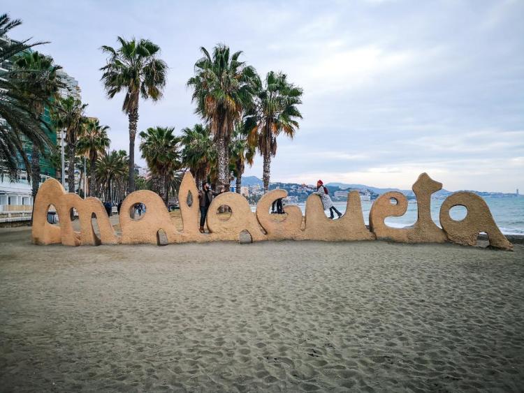 playa malagueta andalucia